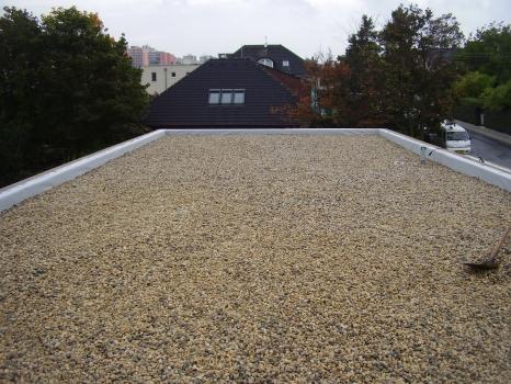 Izolace na plochou střechu